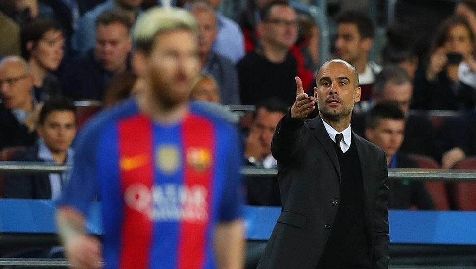 غوارديولا يعلق على إمكانية رحيل ميسي عن برشلونة