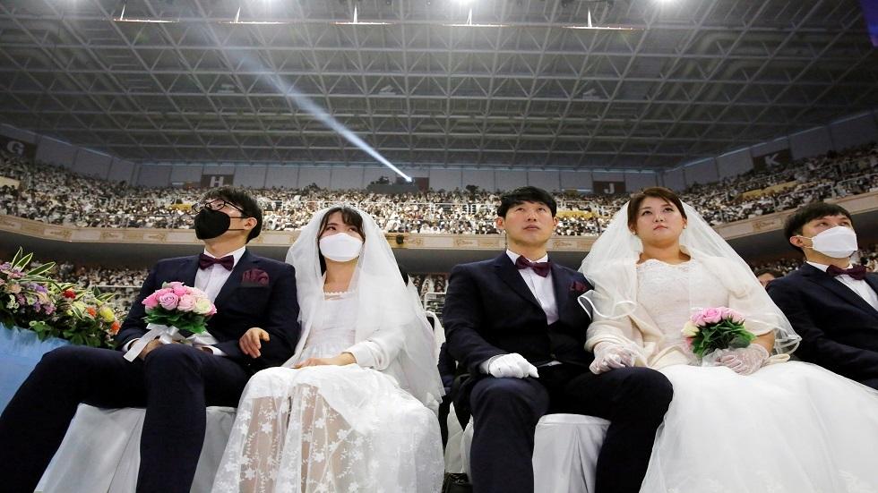 سيئول تشهد زفافا جماعيا  في