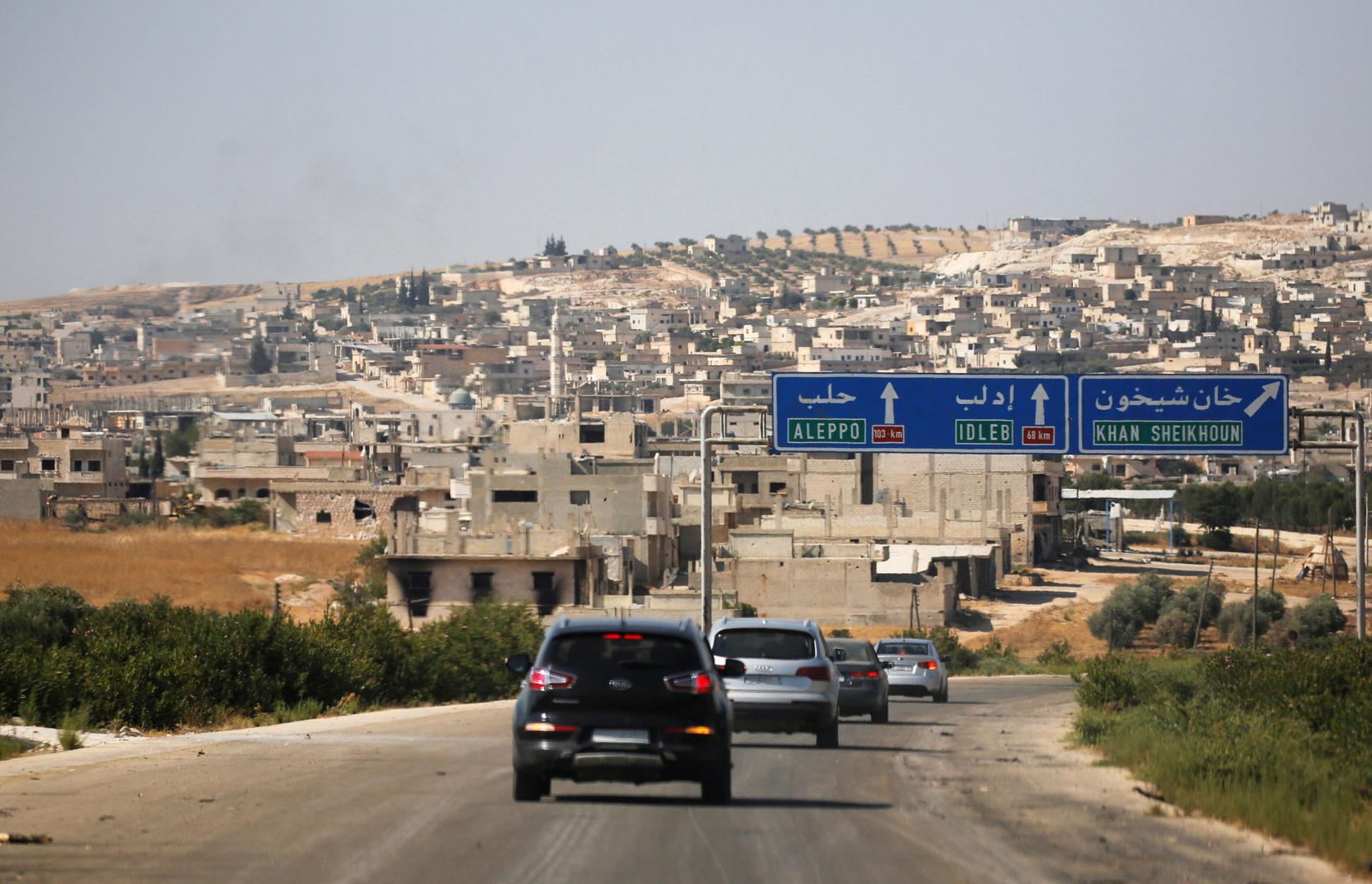 سوريا.. مقتل 3 مدنيين وجرح 4 آخرين بانفجار لغم في خان شيخون