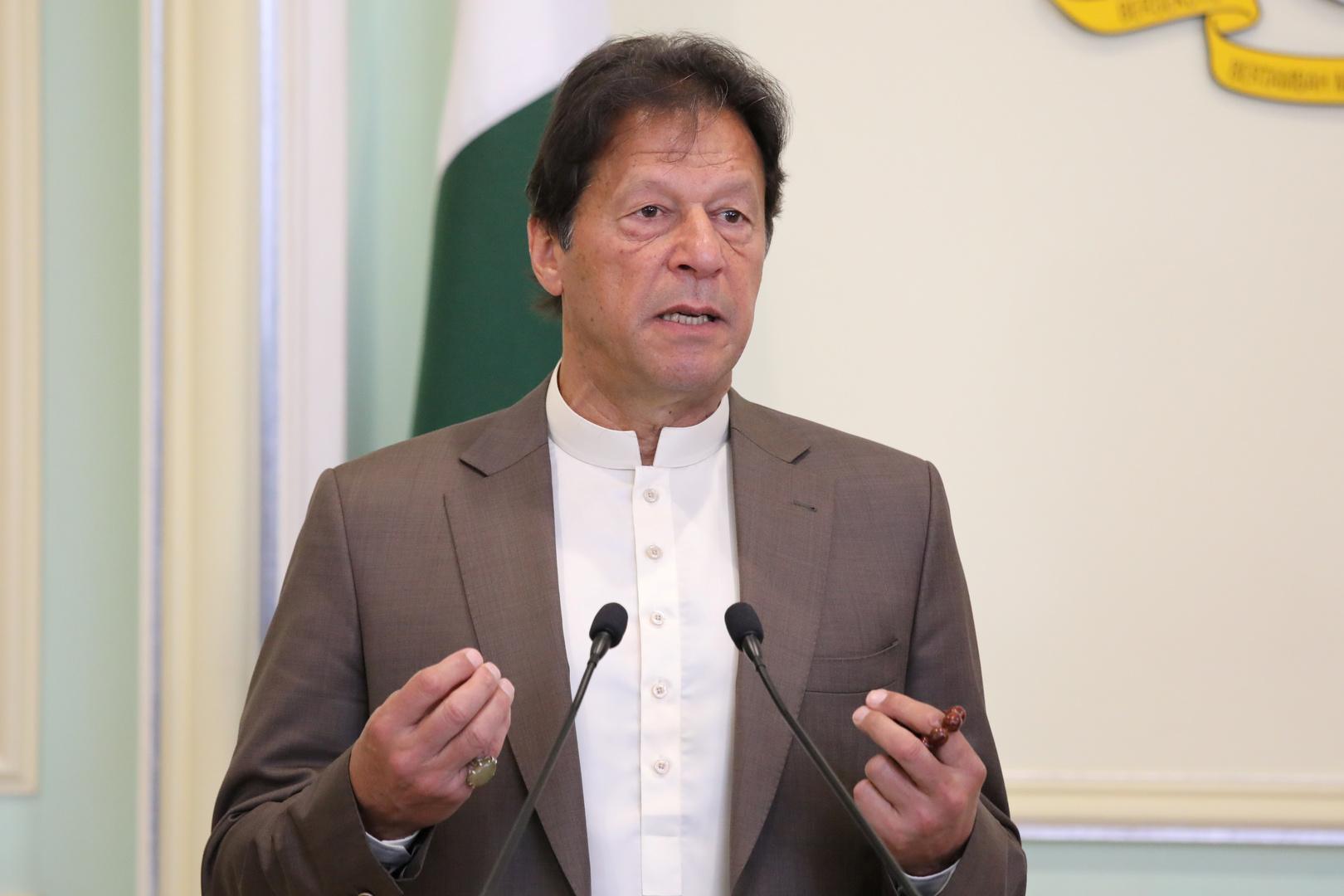 عمران خان، رئيس الوزراء الباكستاني