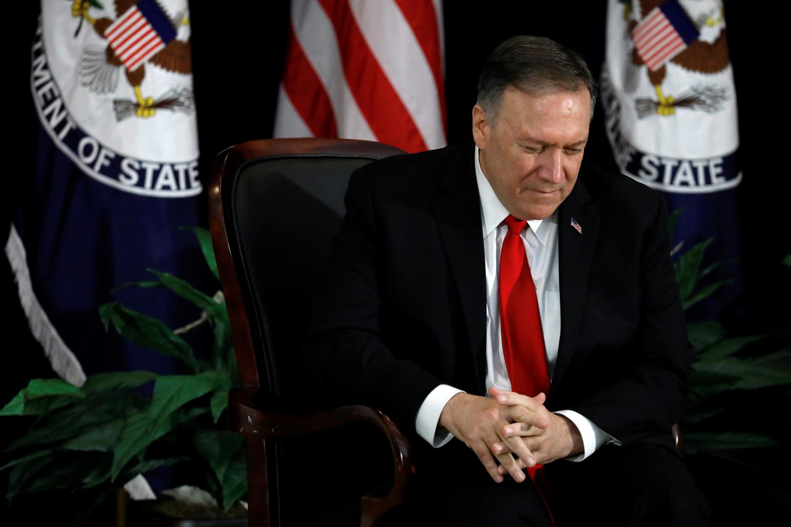 بومبيو يتهم الصين بمحاولة بسط نفوذها في الولايات الأمريكية