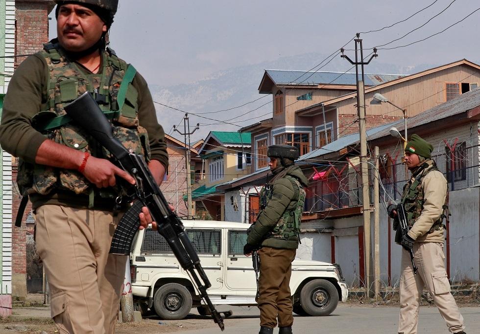 عناصر من قوات الأمن الهندية - أرشيف -