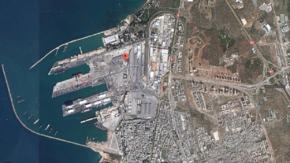 ميناء طرطوس في سوريا