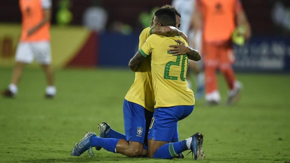 البرازيل تضرب الأرجنتين بثلاثية وتضمن التأهل إلى أولمبياد طوكيو (فيديو)