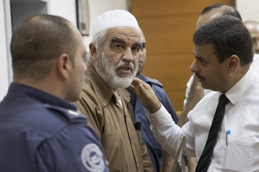 رئيس الحركة الإسلامية في إسرائيل الشيخ رائد صلاح
