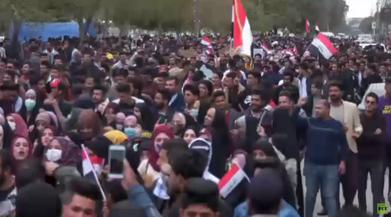قتيل وجرحى في صدامات مع الأمن بمحافظة ذي قار