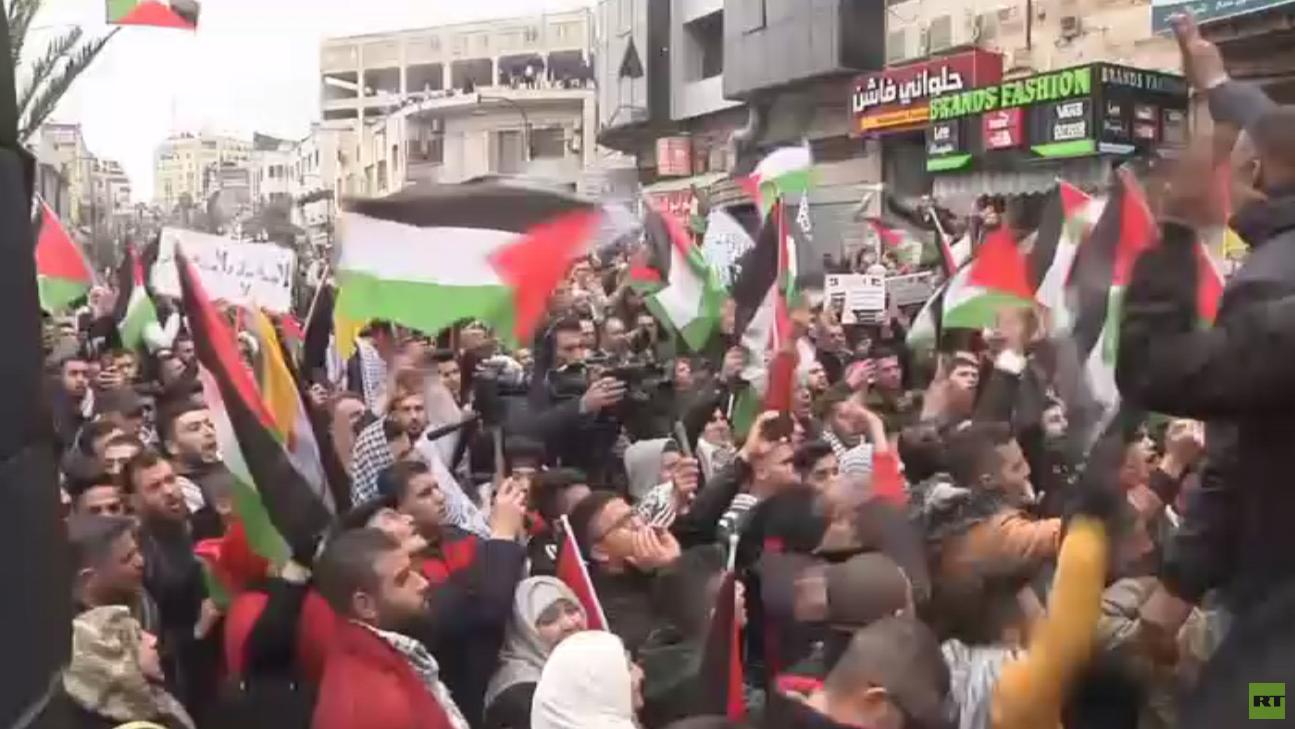 تواصل الحراك الفلسطيني الرافض لصفقة القرن