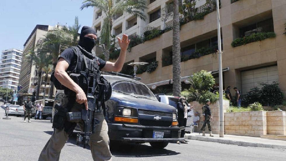 رجل أمن في لبنان