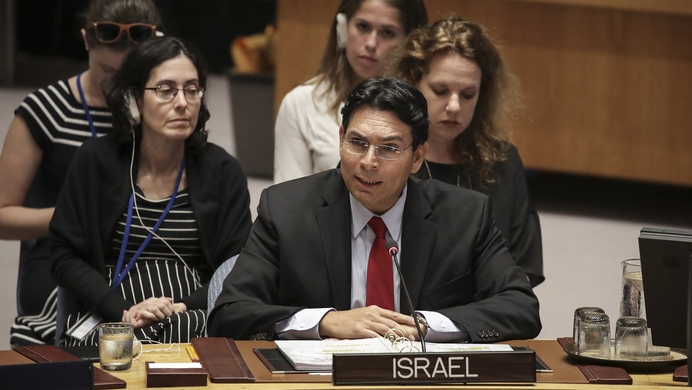 مندوب إسرائيل الدائم لدى الأمم المتحدة داني دانون