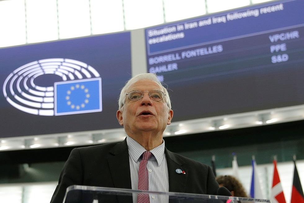 منسق السياسة الخارجية في الاتحاد الأوروبي، جوزيف بوريل