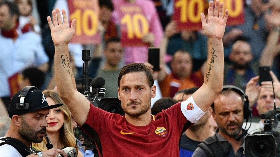 توتي أسطورة روما يعود لكرة القدم بمغامرة جديدة (فيديو)