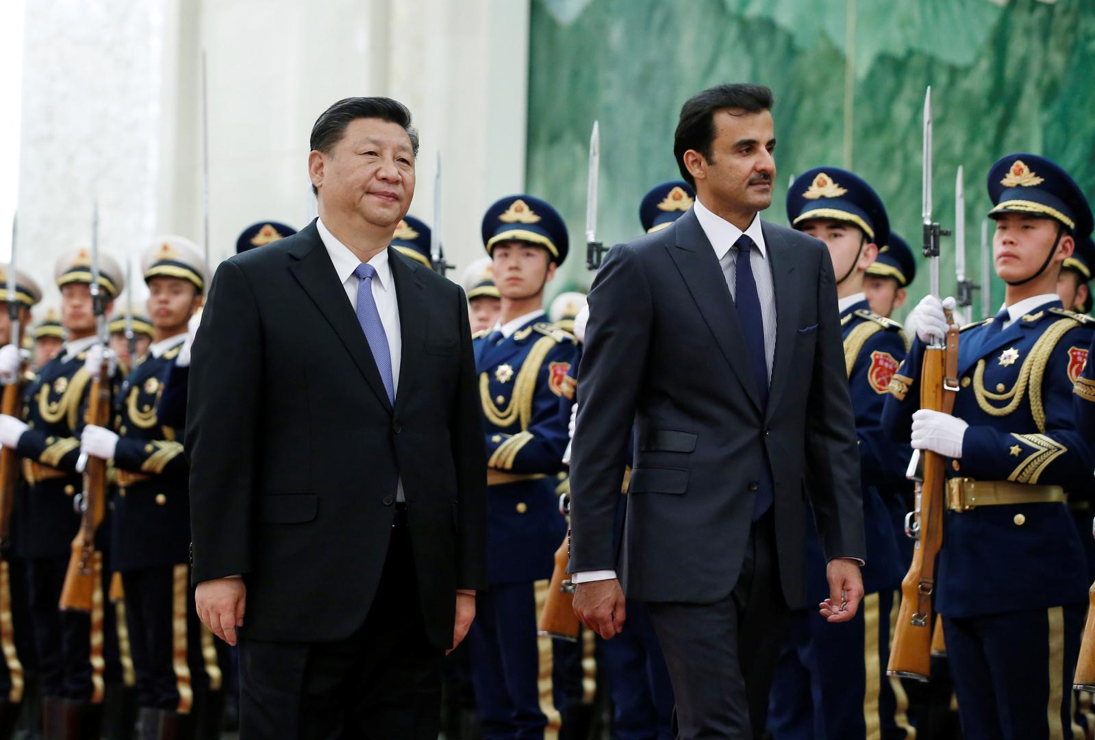 أمير قطر يبدي قناعته بقدرة الصين على الفوز في المعركة ضد فيروس