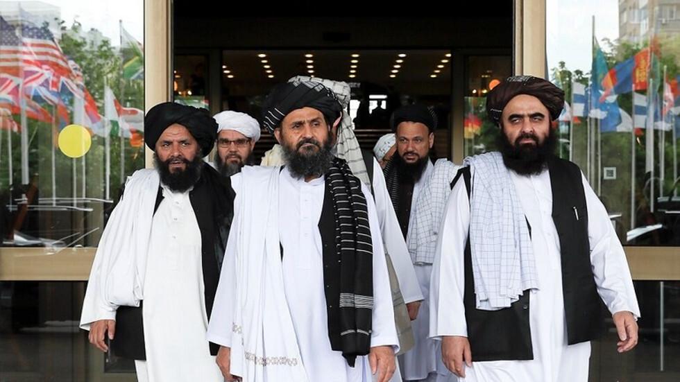 صورة أرشيفية لوفد من حركة طالبان أفغانستان