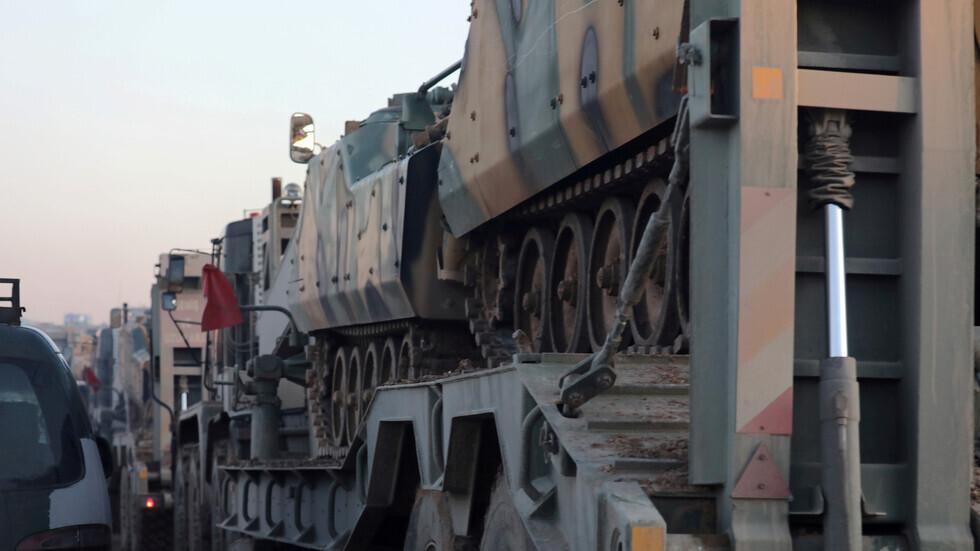 الدفاع الروسية: السبب في أزمة إدلب هو عدم تنفيذ تركيا لالتزاماتها وإدخالها مدرعات وأسلحة إلى هناك