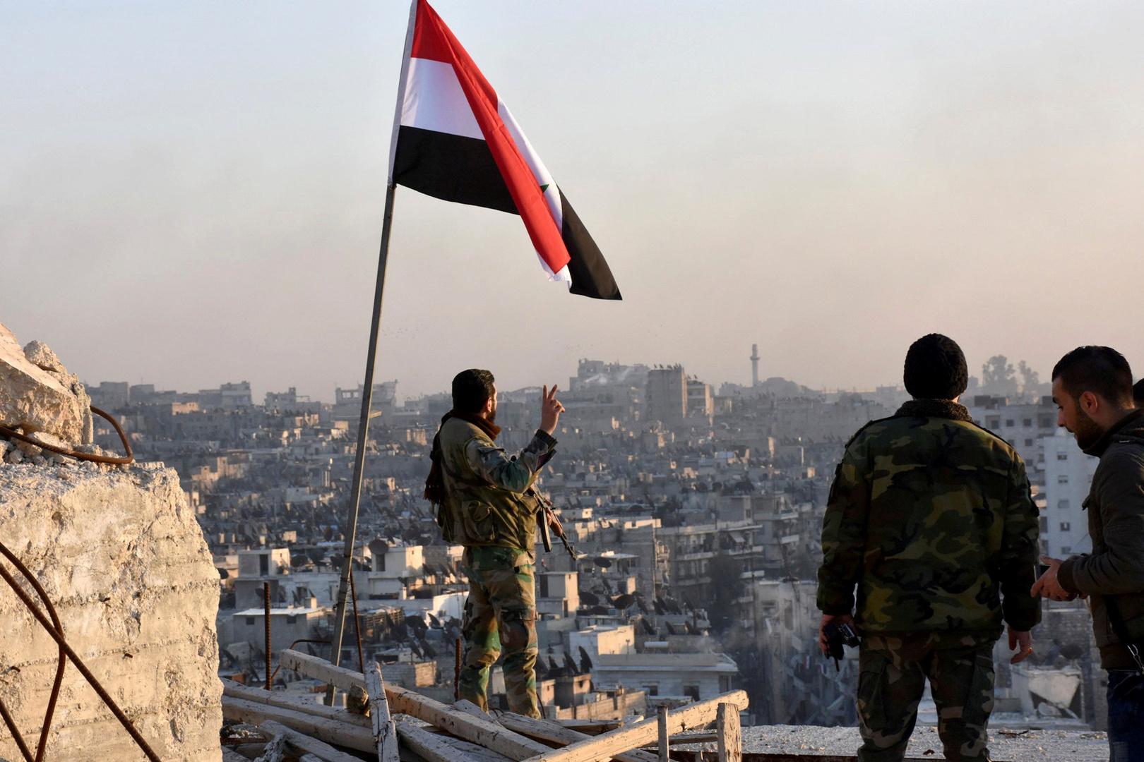 دمشق: تحرير 3 قرى جديدة في ريف حلب وسط انهيار بين الإرهابيين