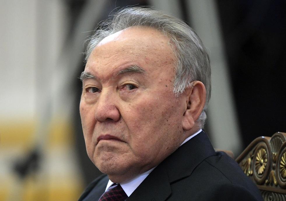 نور سلطان نزارباييف أول رئيس لجمهورية كازاخستان