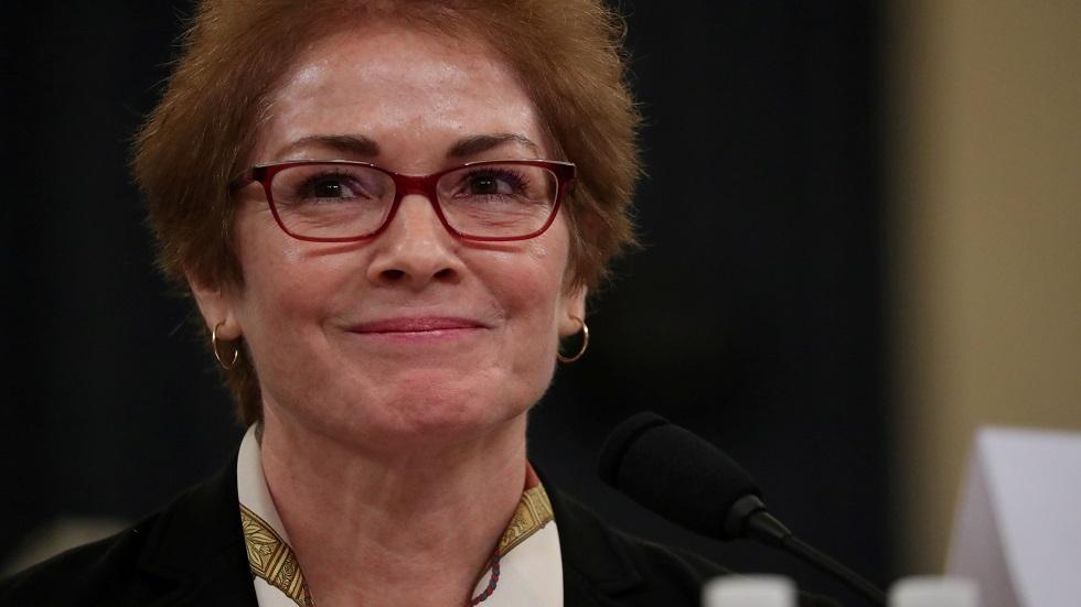 السفيرة الأمريكية السابقة ماري يوفانوفيتش