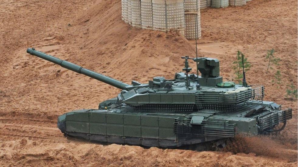 أحدث دبابة روسية تدخل الخدمة الفعلية عام 2020