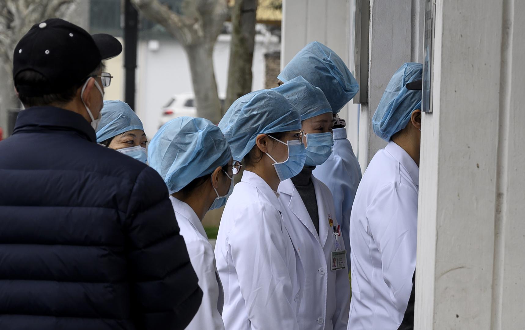 تطور مثير للقلق في حرب الصين ضد فيروس