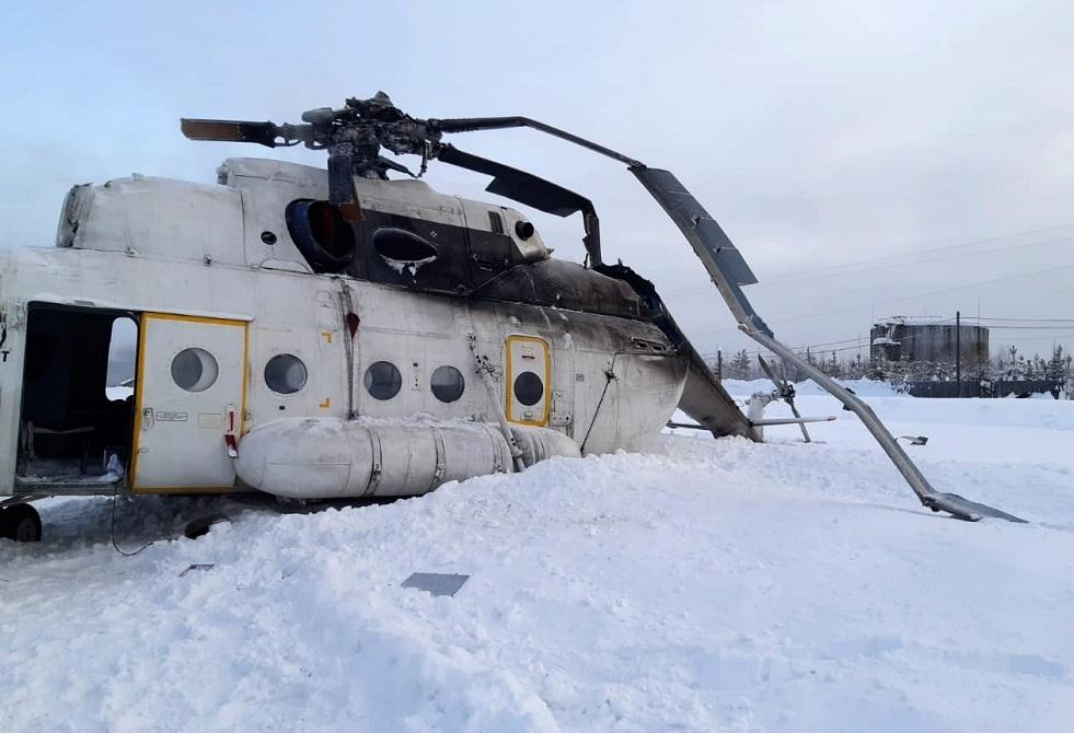 Russisk nødsituation bekræfter, at to mennesker blev dræbt under en alvorlig helikopterlanding i Yamal