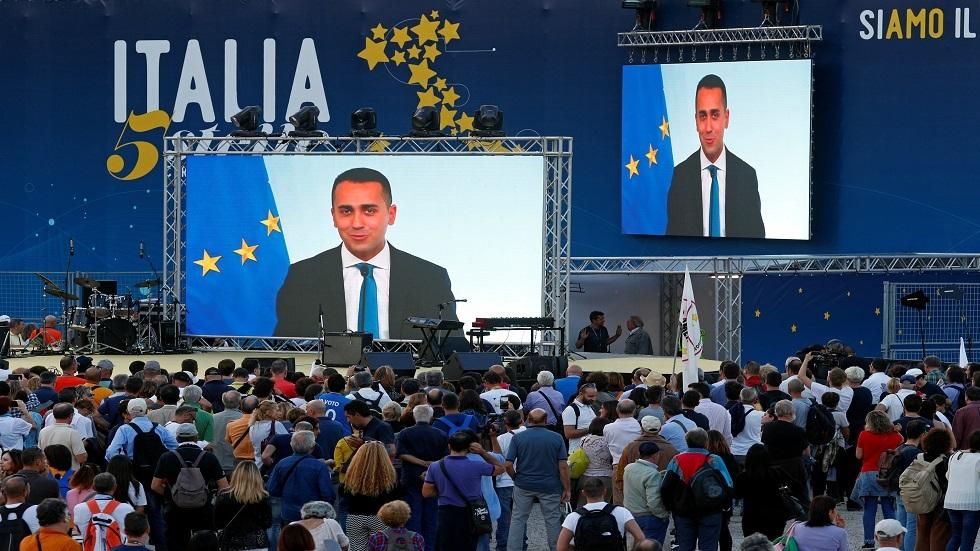 Den italienske udenrigsminister opfordrer til en demonstration mod regeringen