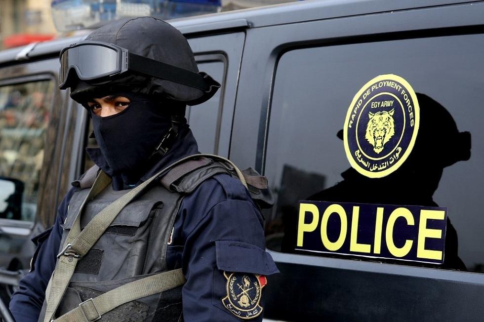 الشرطة المصرية -أرشيف-