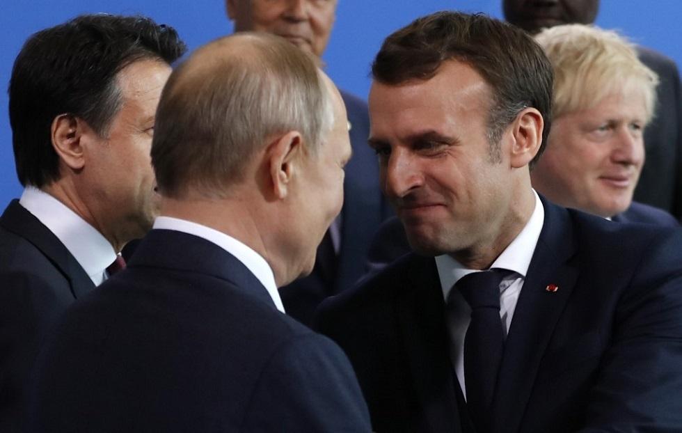ماكرون: سياسة تحدي أوروبا لروسيا فشلت