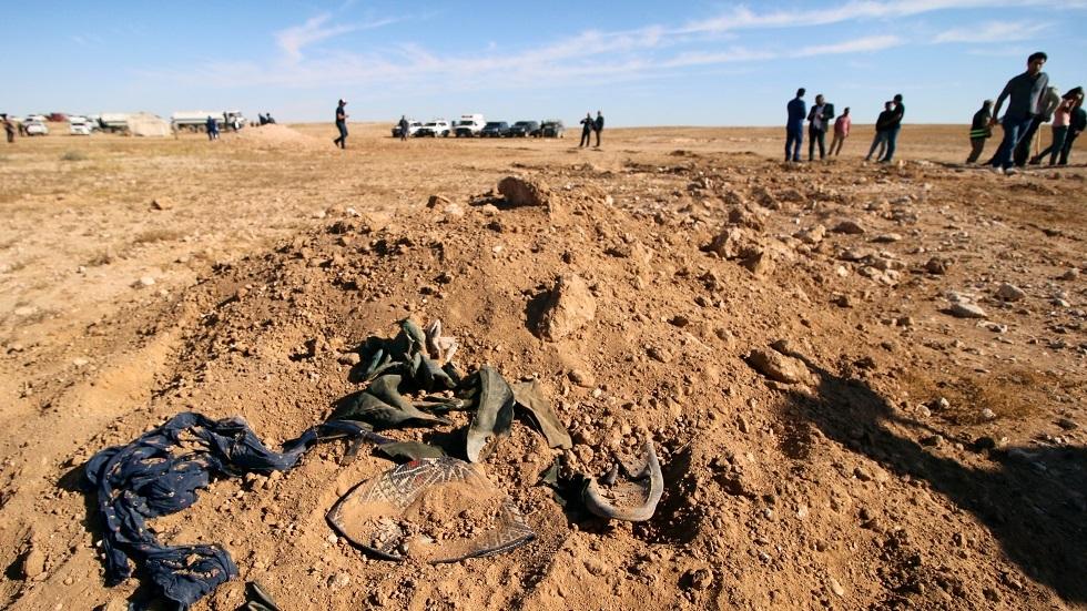 موقع لإحدى المقابر الجماعية في العراق -أرشيف