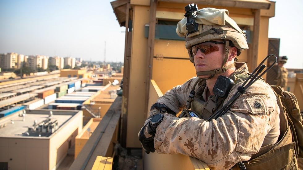 هجوم صاروخي يستهدف قاعدة للتحالف الأمريكي والسفارة الأمريكية في بغداد