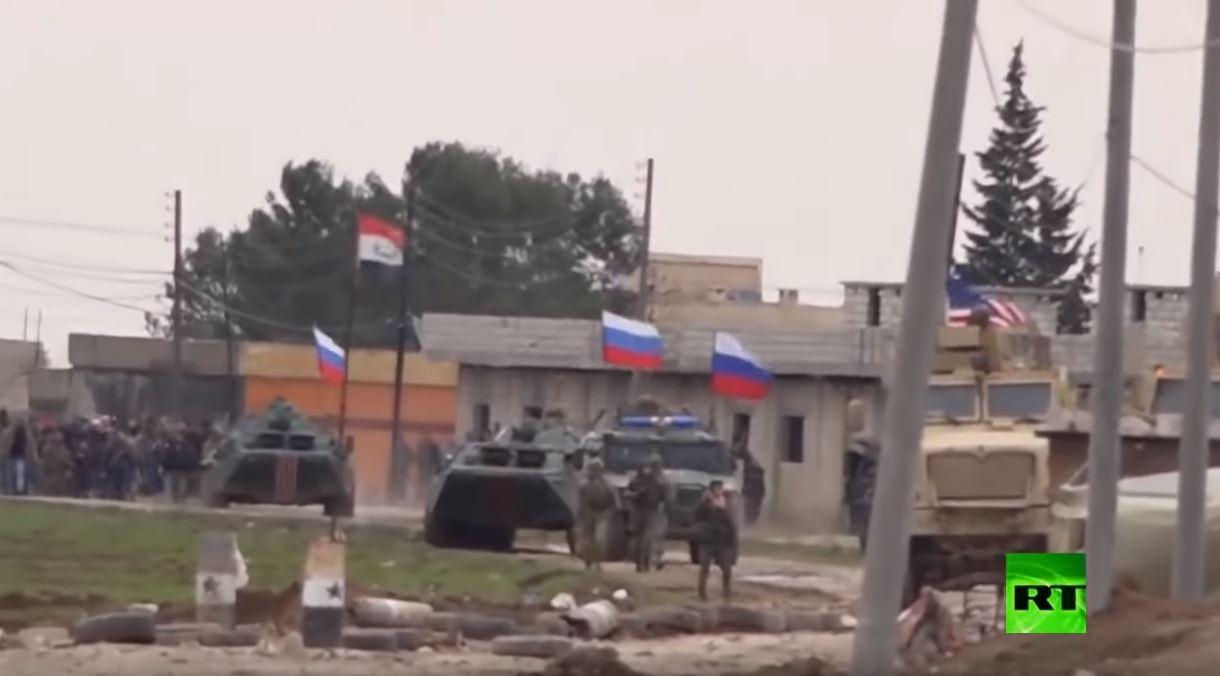 الرواية الكاملة لإنقاذ  قوة روسية وحدة أمريكية حاصرها سوريون غاضبون قرب الحسكة