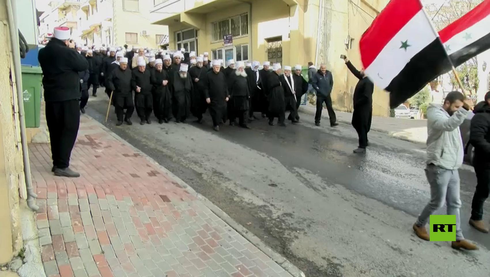 مسيرة في الجولان المحتل في ذكرى إضراب 1982