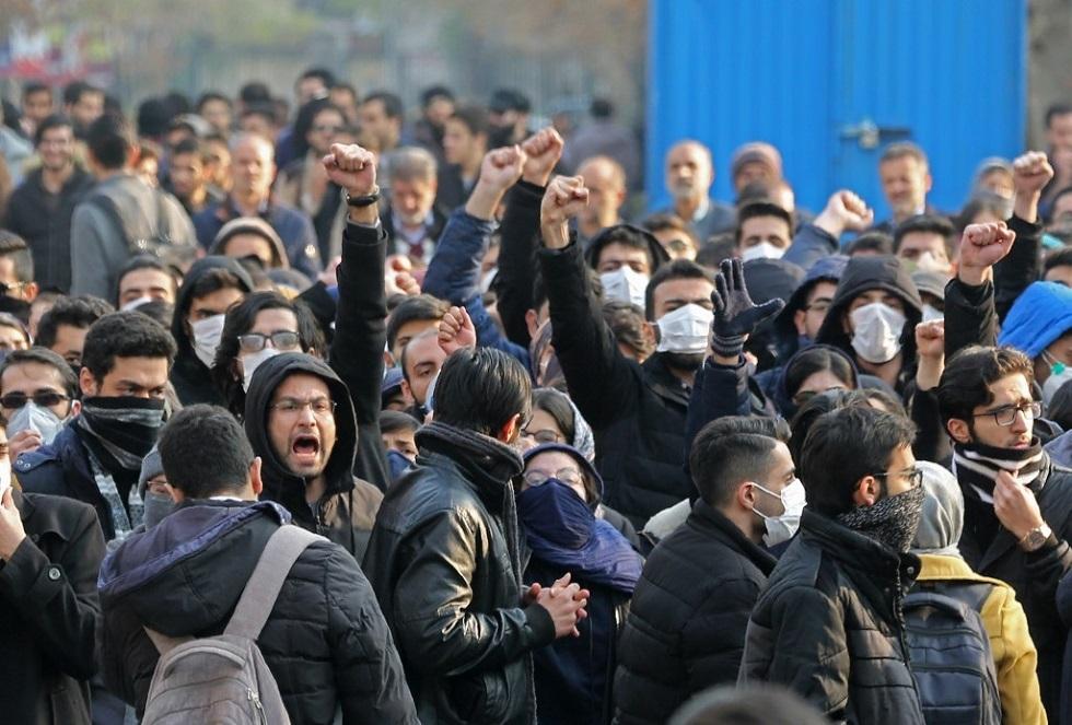 مظاهرات طلاب في إيران -أرشيف-