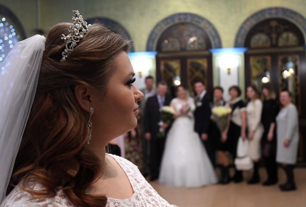 صورة أرشيفية لتسجيل واقعة زواج في روسيا
