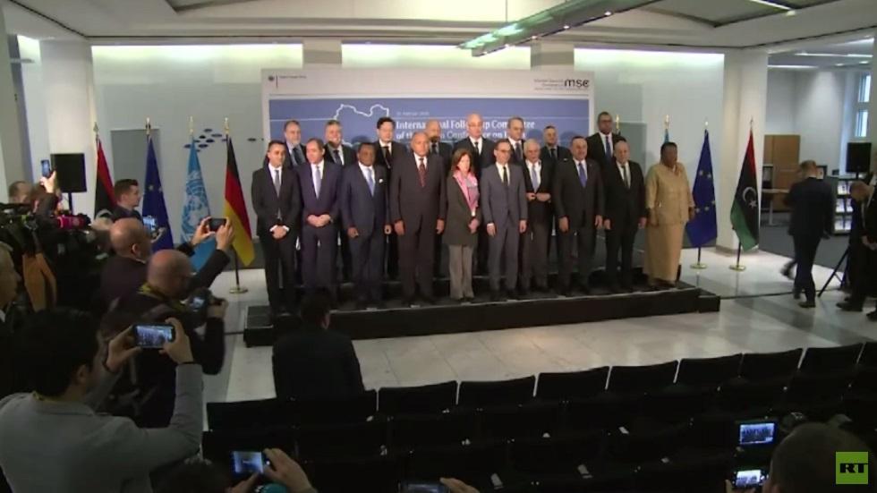 لجنة مؤتمر برلين تدعو للالتزام بهدنة ليبيا