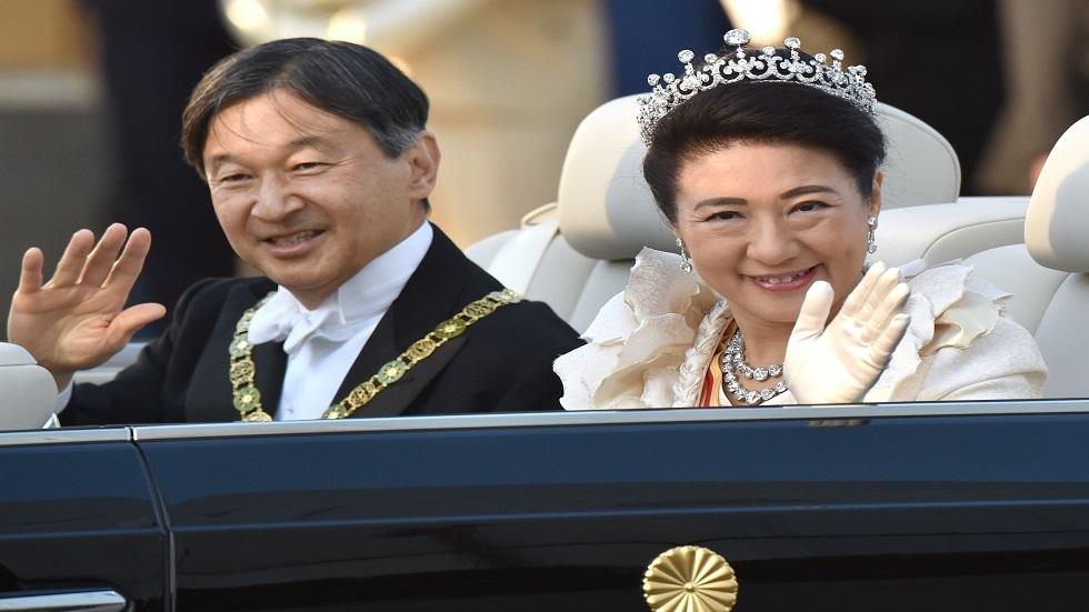 الإمبراطور الياباني ناروهيتو وزوجته الإمبراطورة - أرشيف