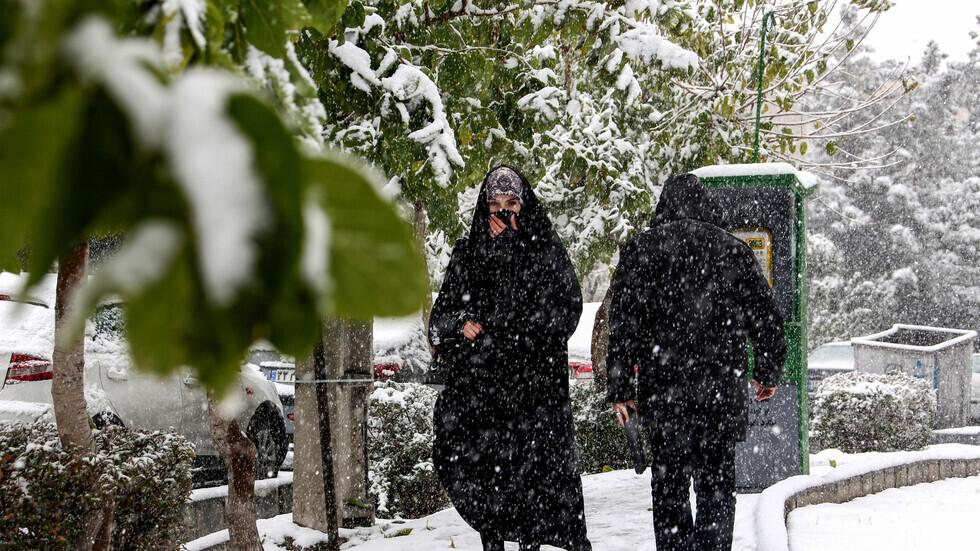 إيران.. العصافير تموت واقفة من البرد