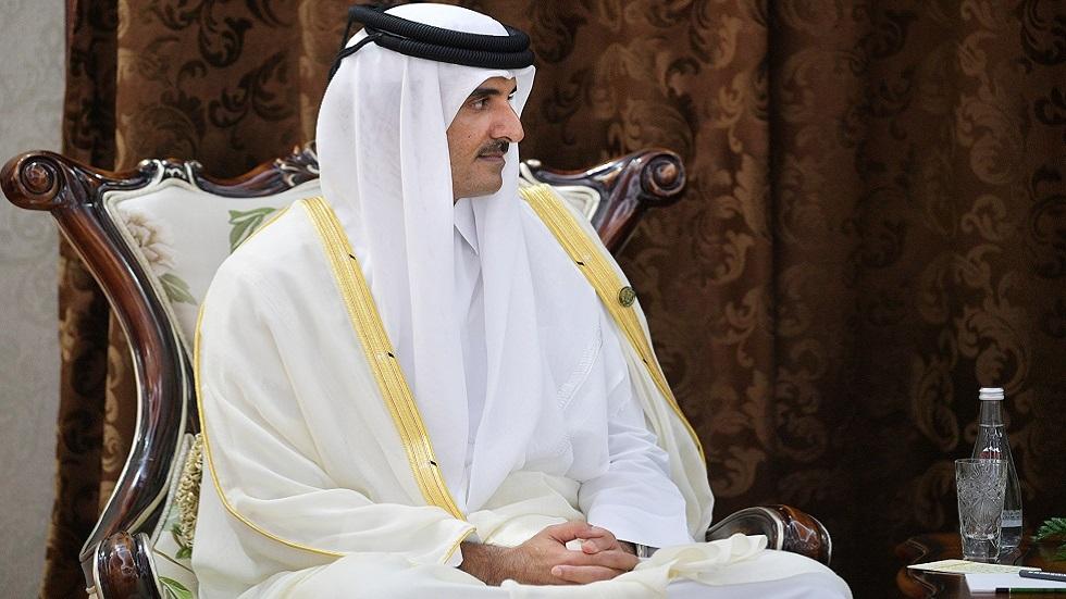 أمير قطر الشيخ تميم بن حمد آل ثاني (صورة أرشيفية)
