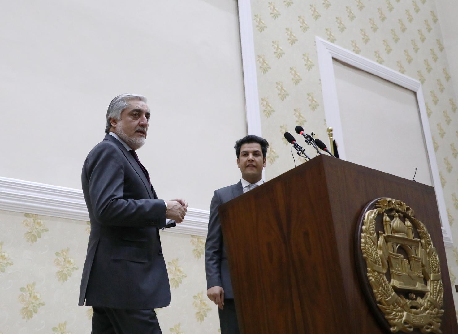 عبد الله يعلن فوزه في الانتخابات الرئاسية الأفغانية وتشكيل حكومة موازية