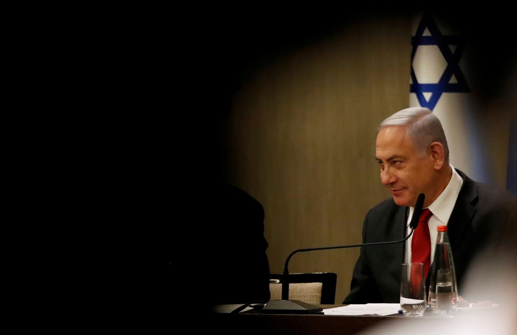 رئيس الوزراء الإسرائيل بنيامين نتنياهو
