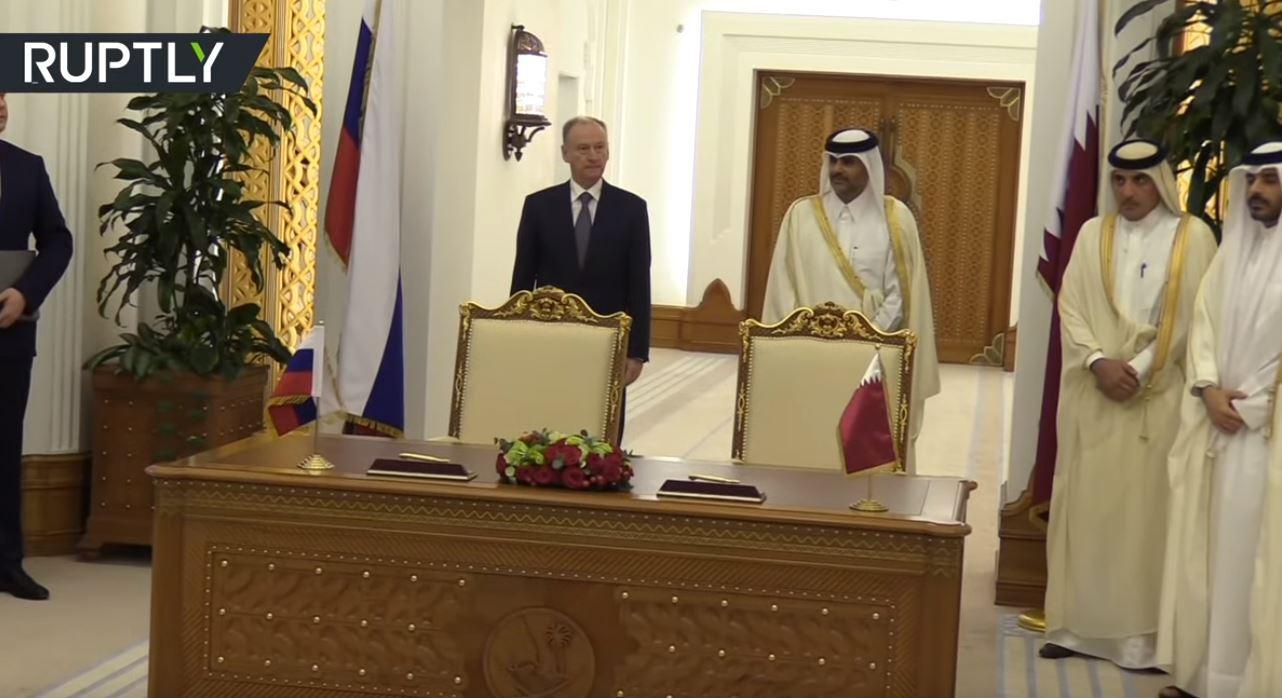 سكرتير مجلس الأمن الروسي في قطر