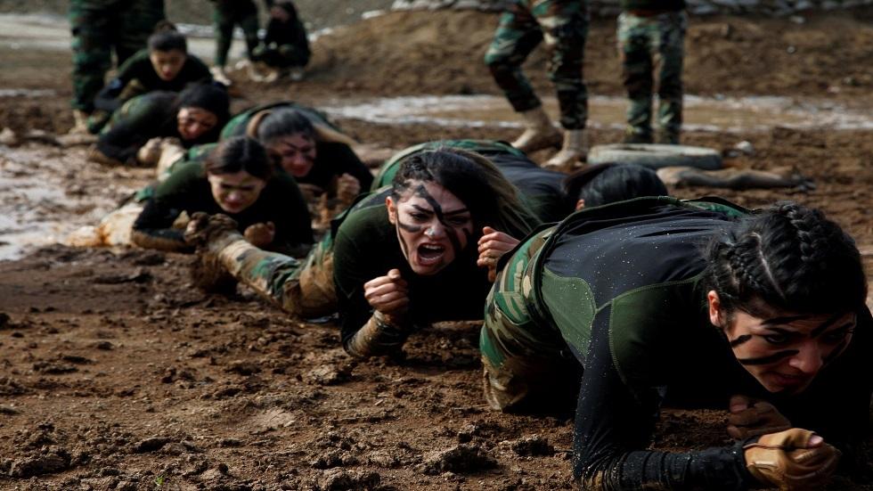 وحدة خاصة في قوات البيشمركة الكردية