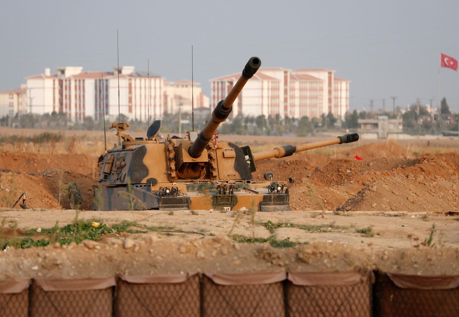 آلية عسكرية تركية-أرشيف
