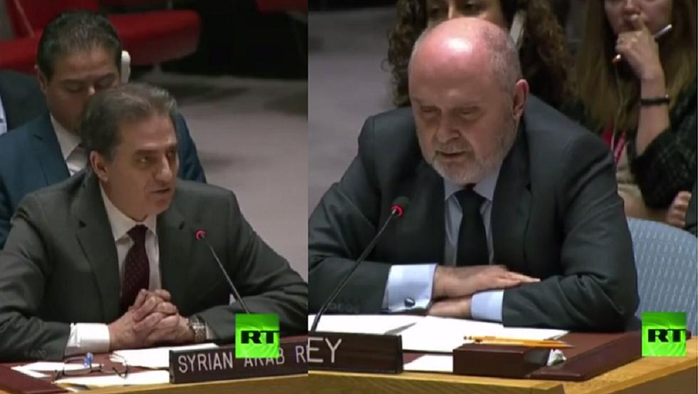 مشادة كلامية بين مندوبي سوريا وتركيا في مجلس الأمن