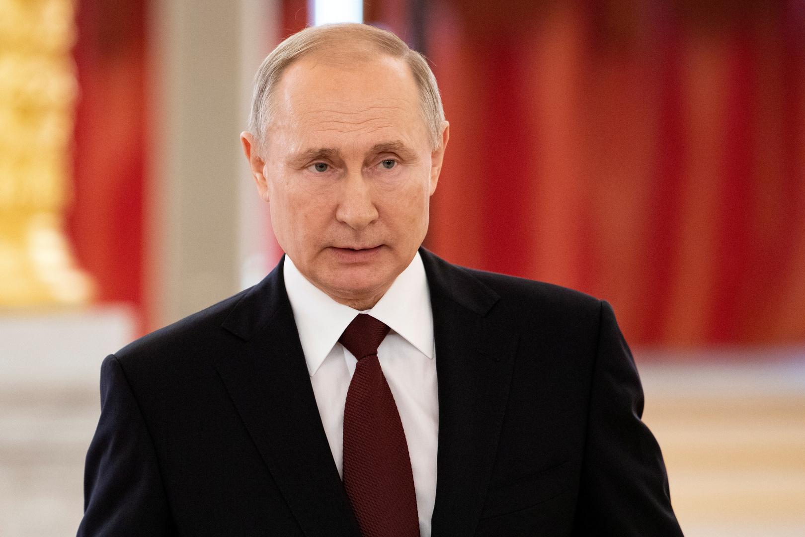 بوتين: عدد جرائم الإرهاب في روسيا ينخفض ونثمنالتضامن المهني معنا من الشركاء الأجانب