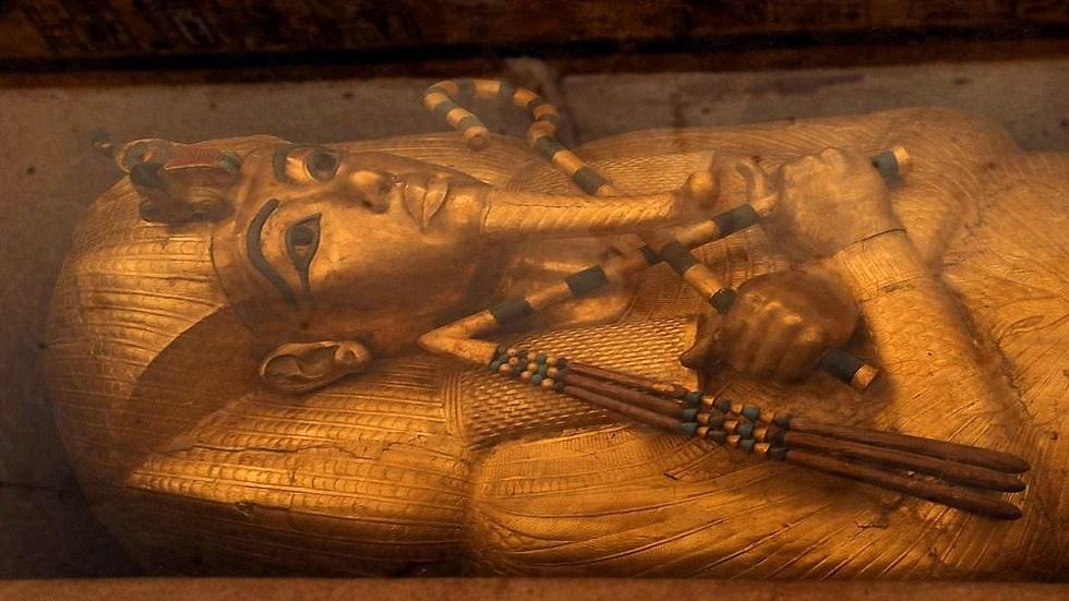 غرف خفية في قبر توت عنخ آمون قد