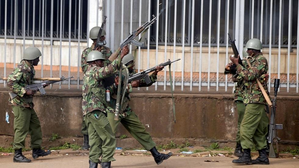 قوات الأمن الكينية - أرشيف