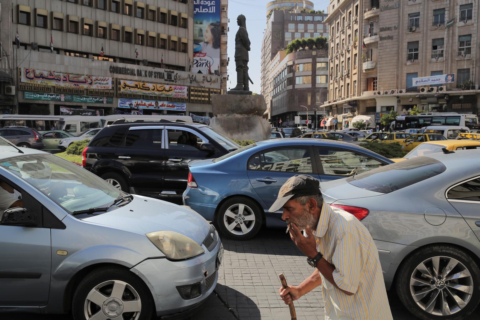 شارع في العاصمة السورية دمشق- من الأرشيف