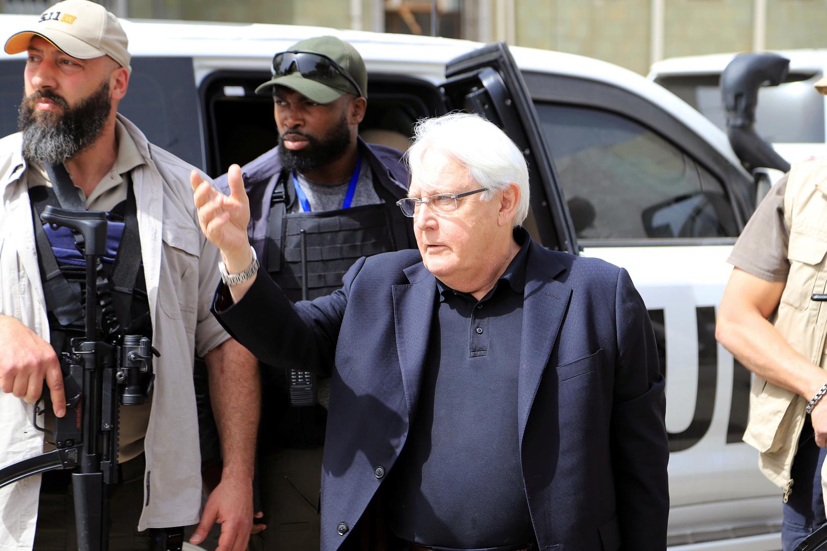 الحوثيون يتهمون غريفيث بالانحياز لصالح التحالف العربي