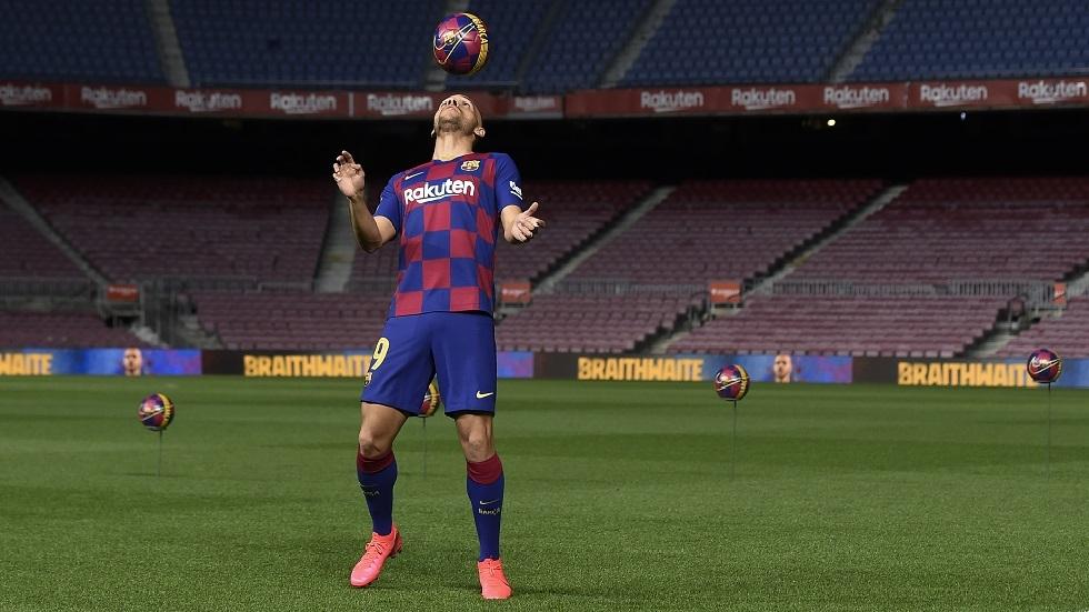 مهارات لاعب برشلونة الجديد تثير سخرية رواد مواقع التواصل (فيديو)