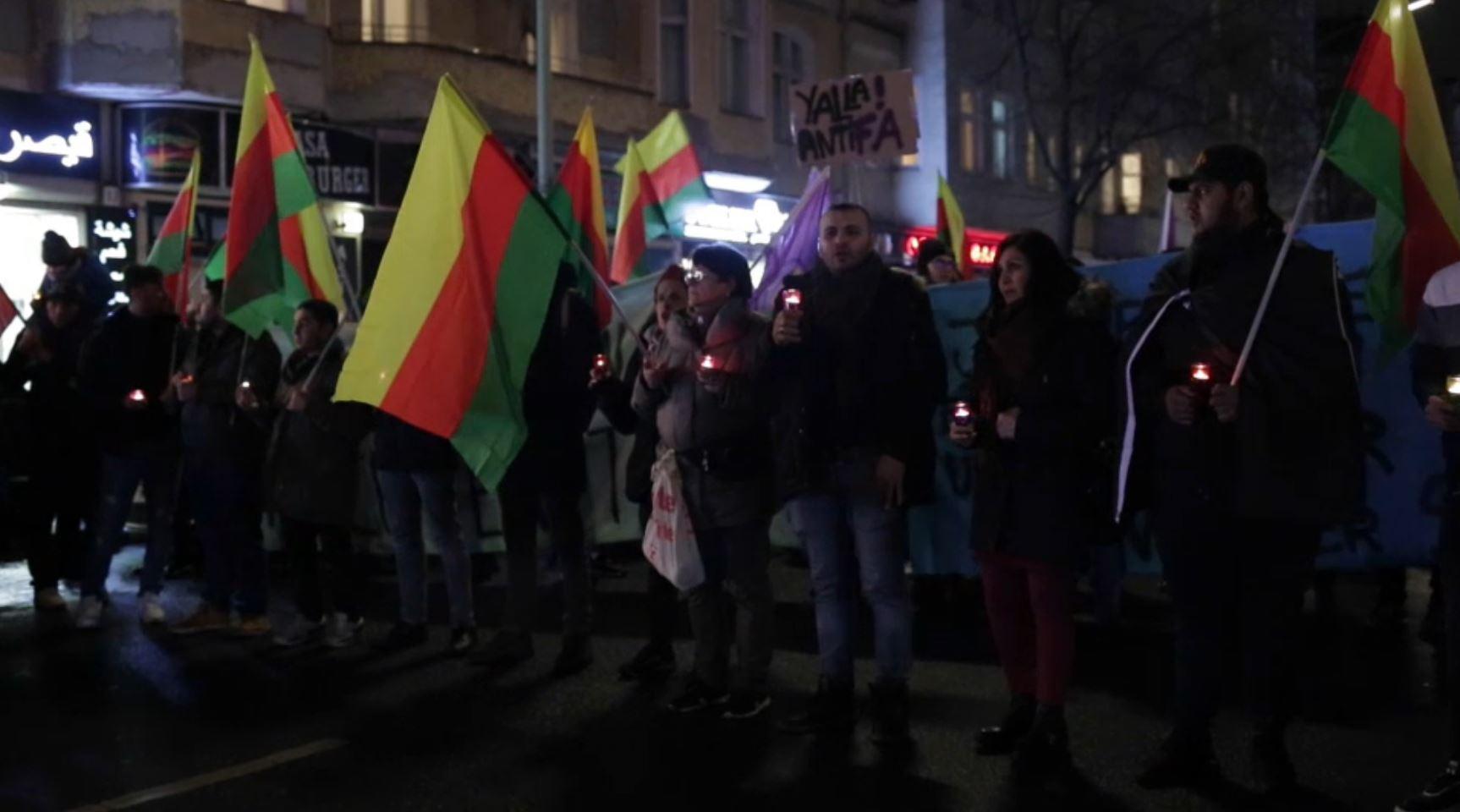 الآلاف يحتشدون في برلين تضامنا مع أقارب ضحايا هجوم هاناو